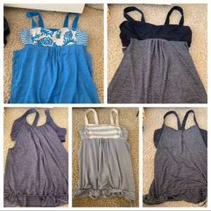 Size 12 tank bundle - all brand new without tags